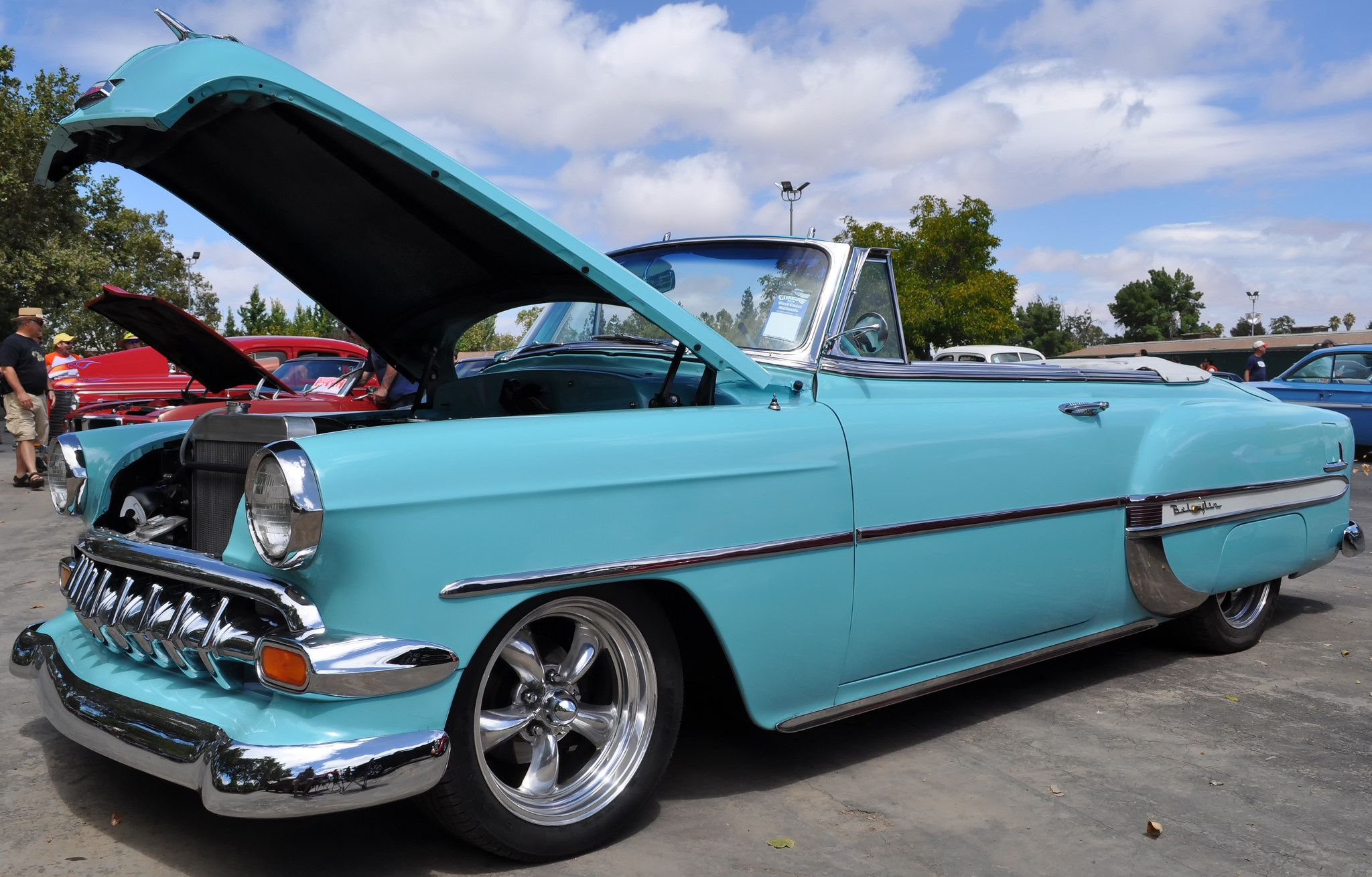 1954 Chevrolet Bel Air And Https Flickr P Vxwou3