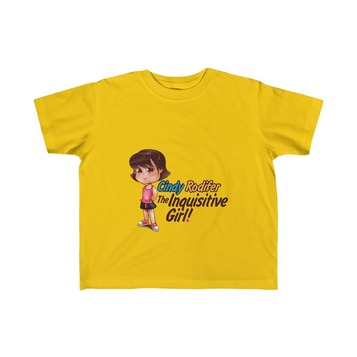 Cindy Rodifer: The Inquisitive Girl! Rabbitskins 3321 Toddler Fine Jersey Tee (Ages 2-6)