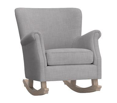 Minna Rocker, Premium Performance Basketweave Silver Gray   *Furniture U003e Nursery  Chairs U0026 Ottomans*   Pinterest   Products