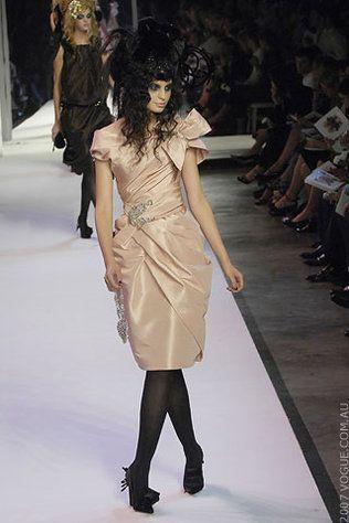 Christian Lacroix Haute Couture Autumn/Winter 2007/08 gallery - Vogue Australia