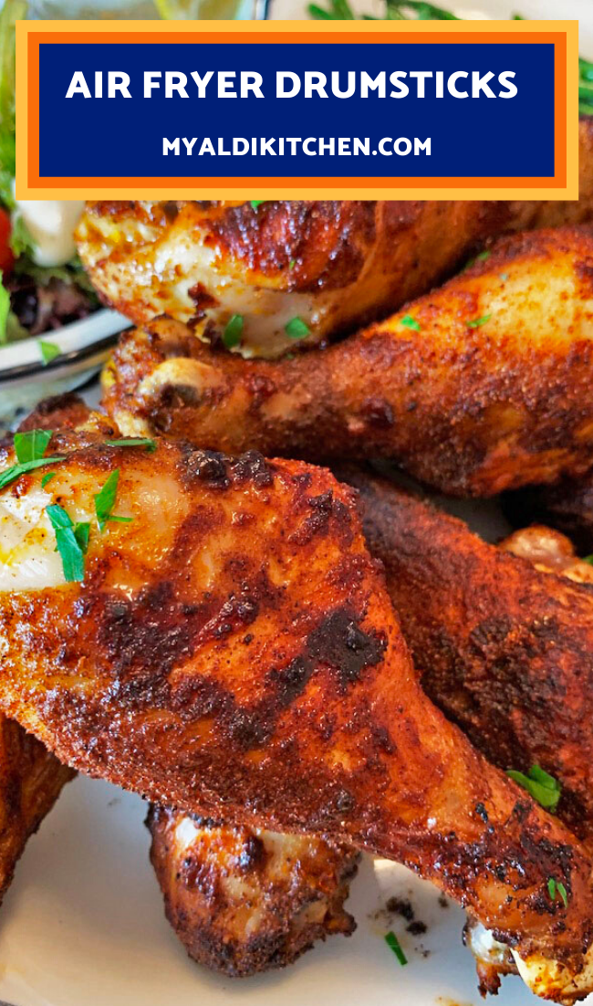 Air Fryer Drumsticks 30 Minute Meal from My Aldi Kitchen