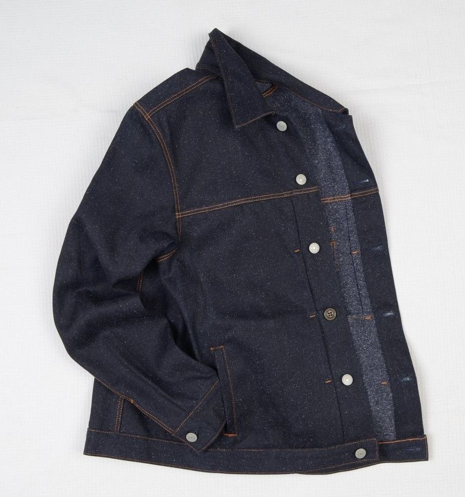 HIROSHI KATO USA Japanese Denim Mens Rider Jacket M