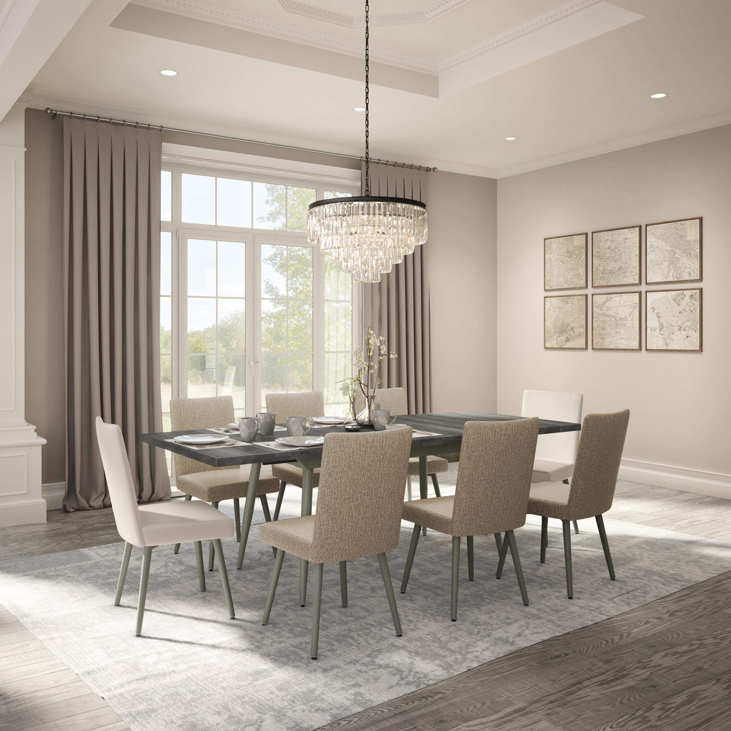Webber Luxury Dining Room Furniture Tables Chairs In Long Island