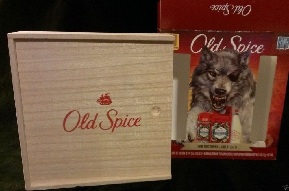 Old spice mens gift set of 3 wolfthorn cologne body wash