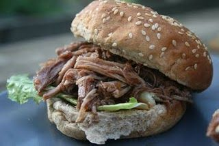 rootbeer pulled pork sandwiches