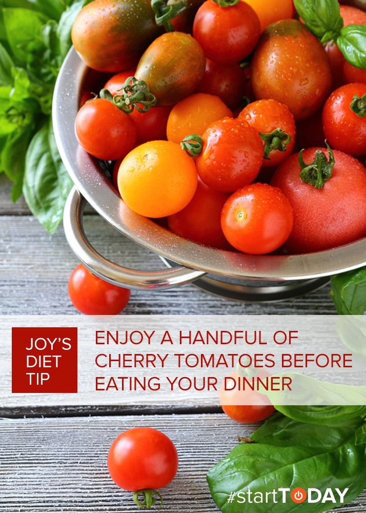 Keep your diet on track with Joy Bauer's daily #startTODAY cleanse tip