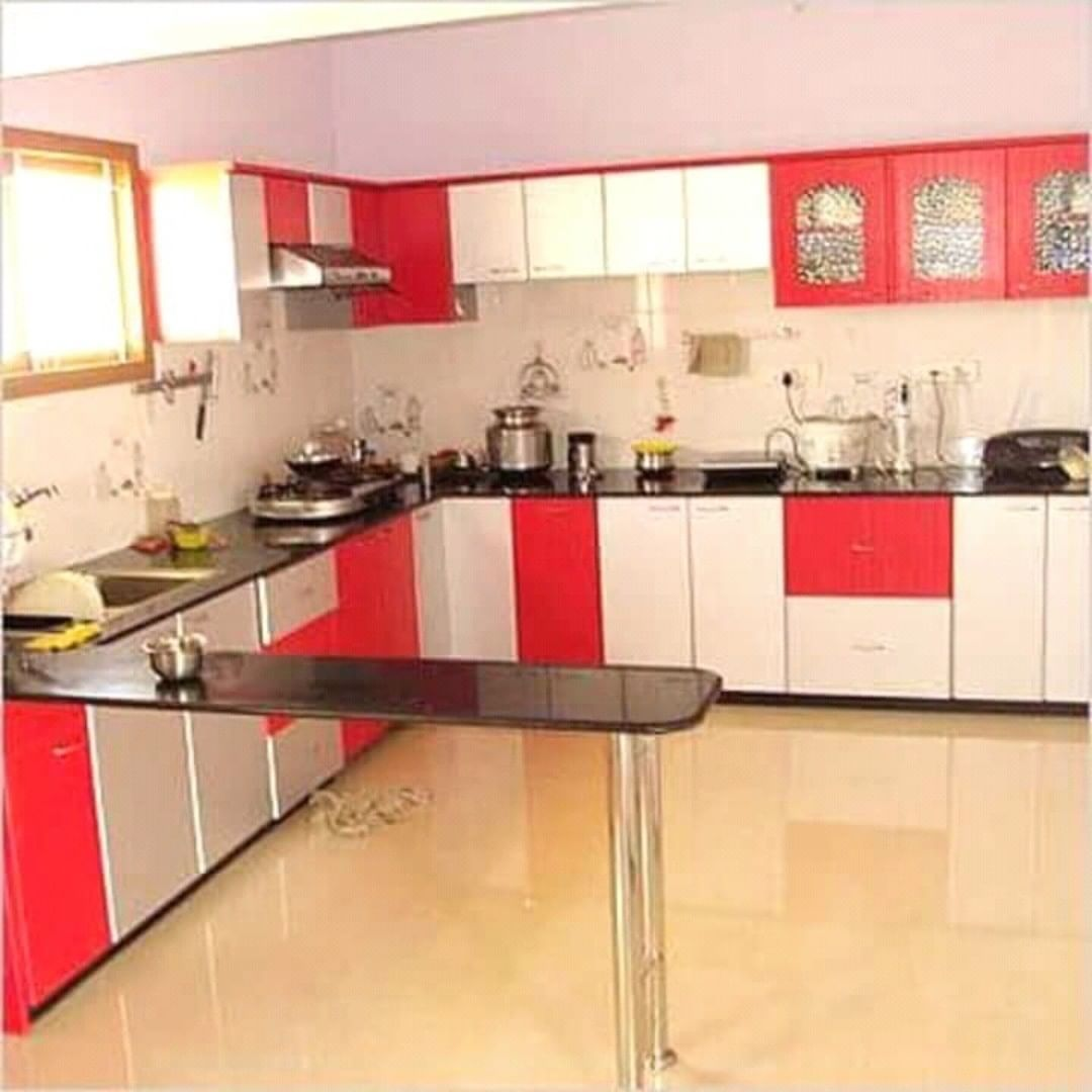 Every Household Dreams Of The Kitchen Which They Designed In There Mind Just Tell Us Th Kitchen Cabinet Interior Red And White Kitchen Cabinets Kitchen Design