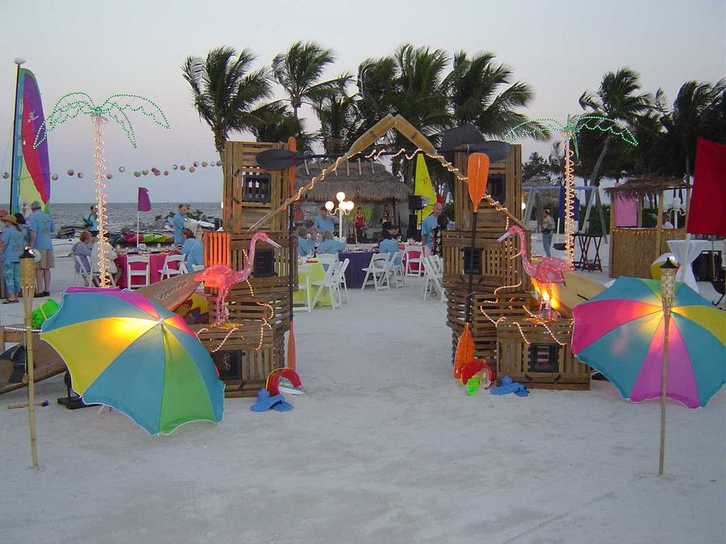 Beach party ideas for adults
