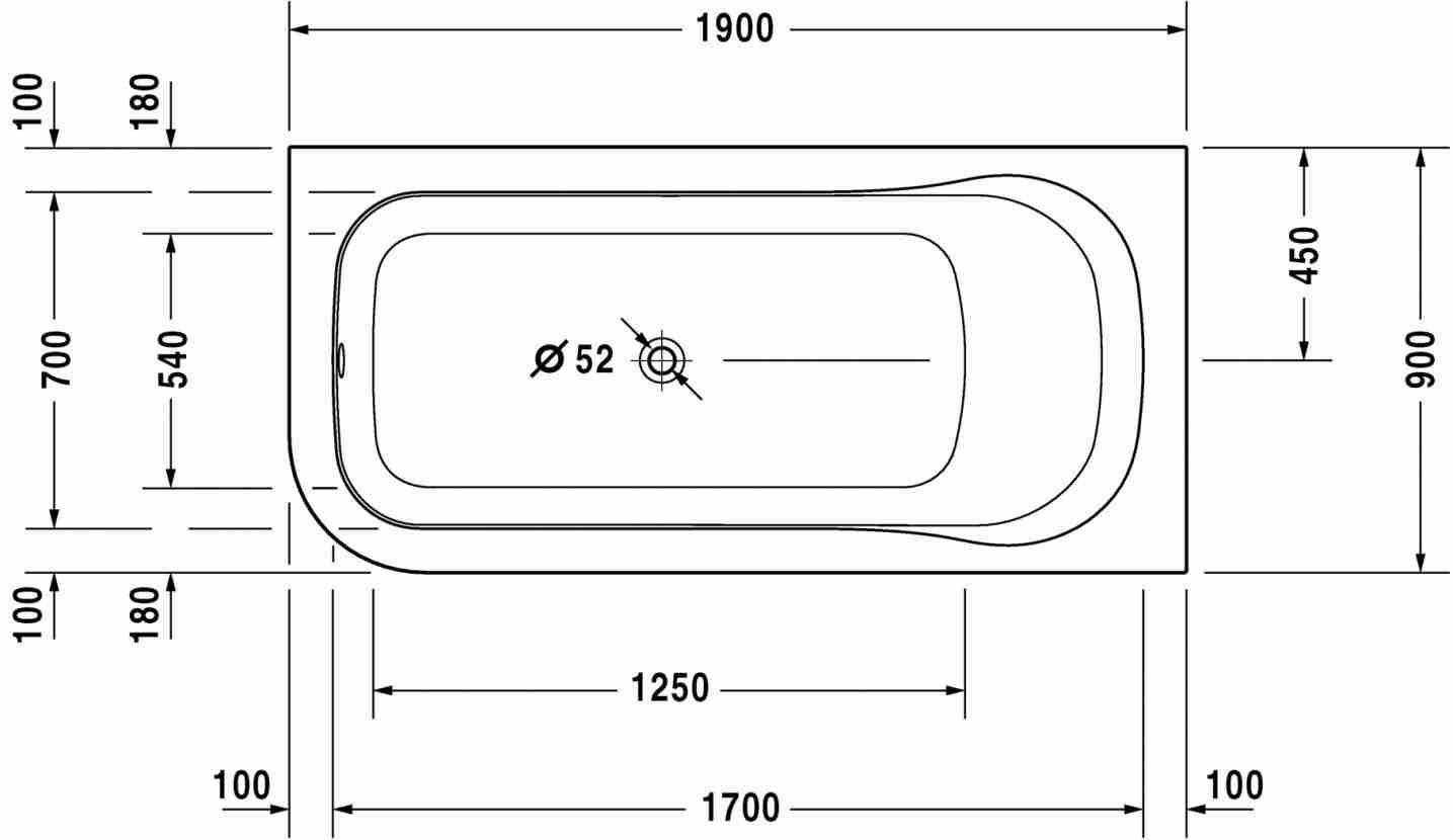 standard bath tub size - Nuruf.comunicaasl.com