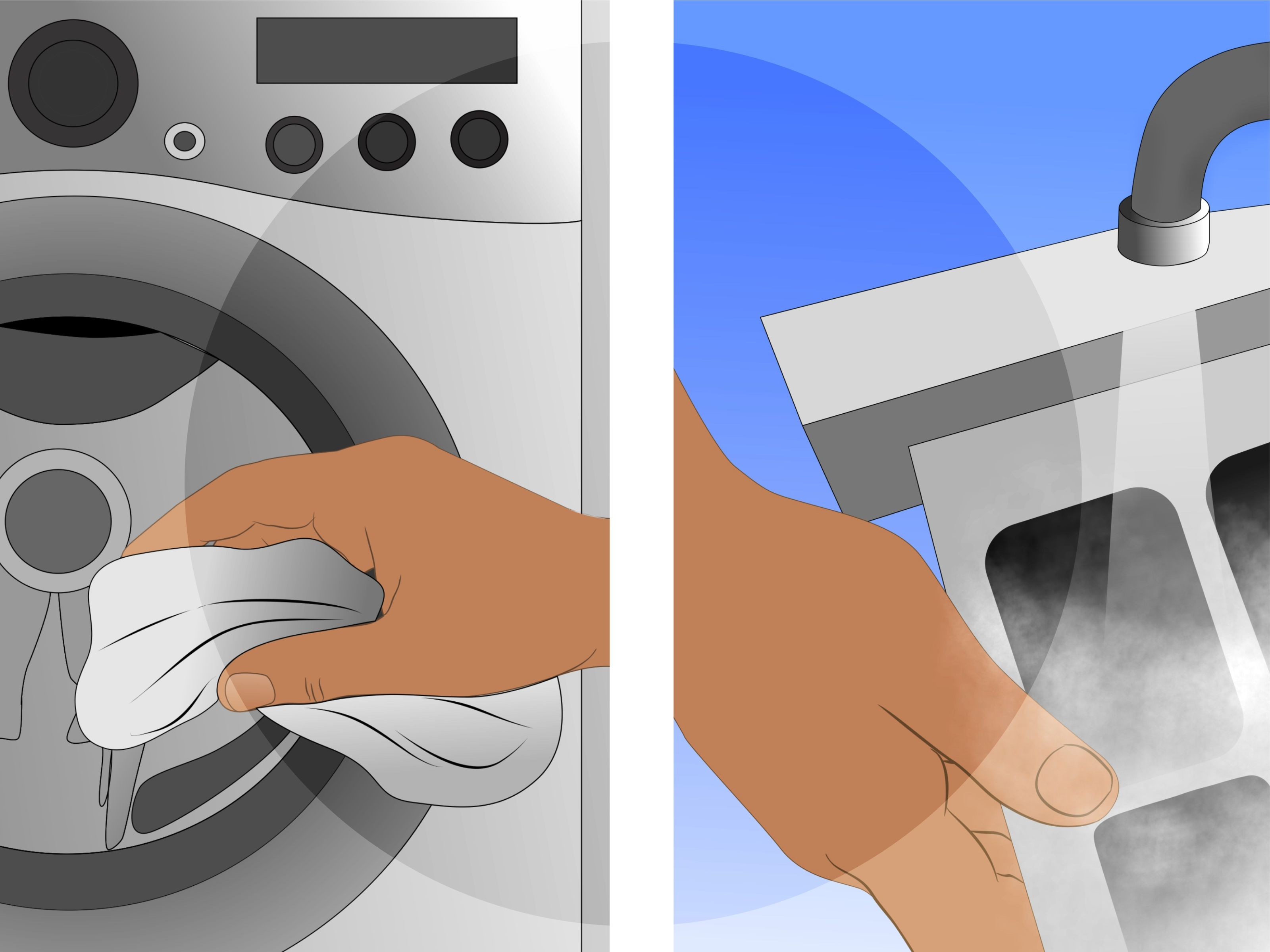 Get Rid of Mold Smell in Front Loader Washing Machine  Washing