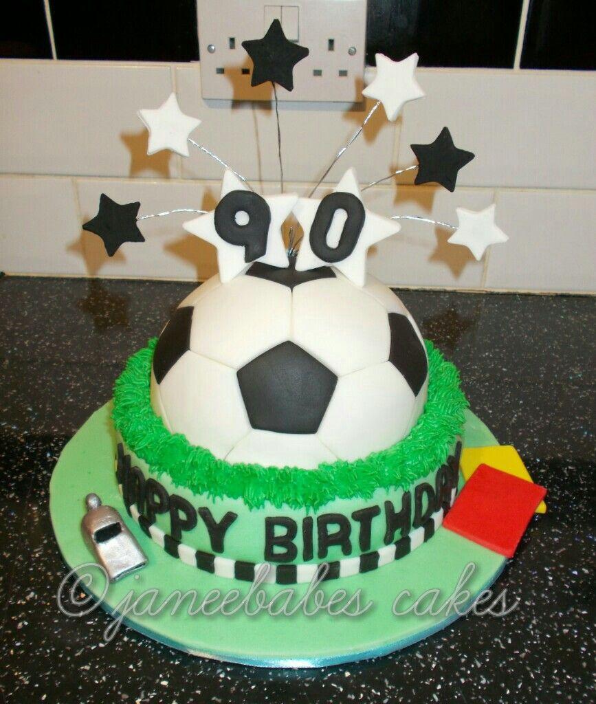 Football Cake Referee Cake Th Birthday Cake Cakes For Football - Football cakes for birthdays