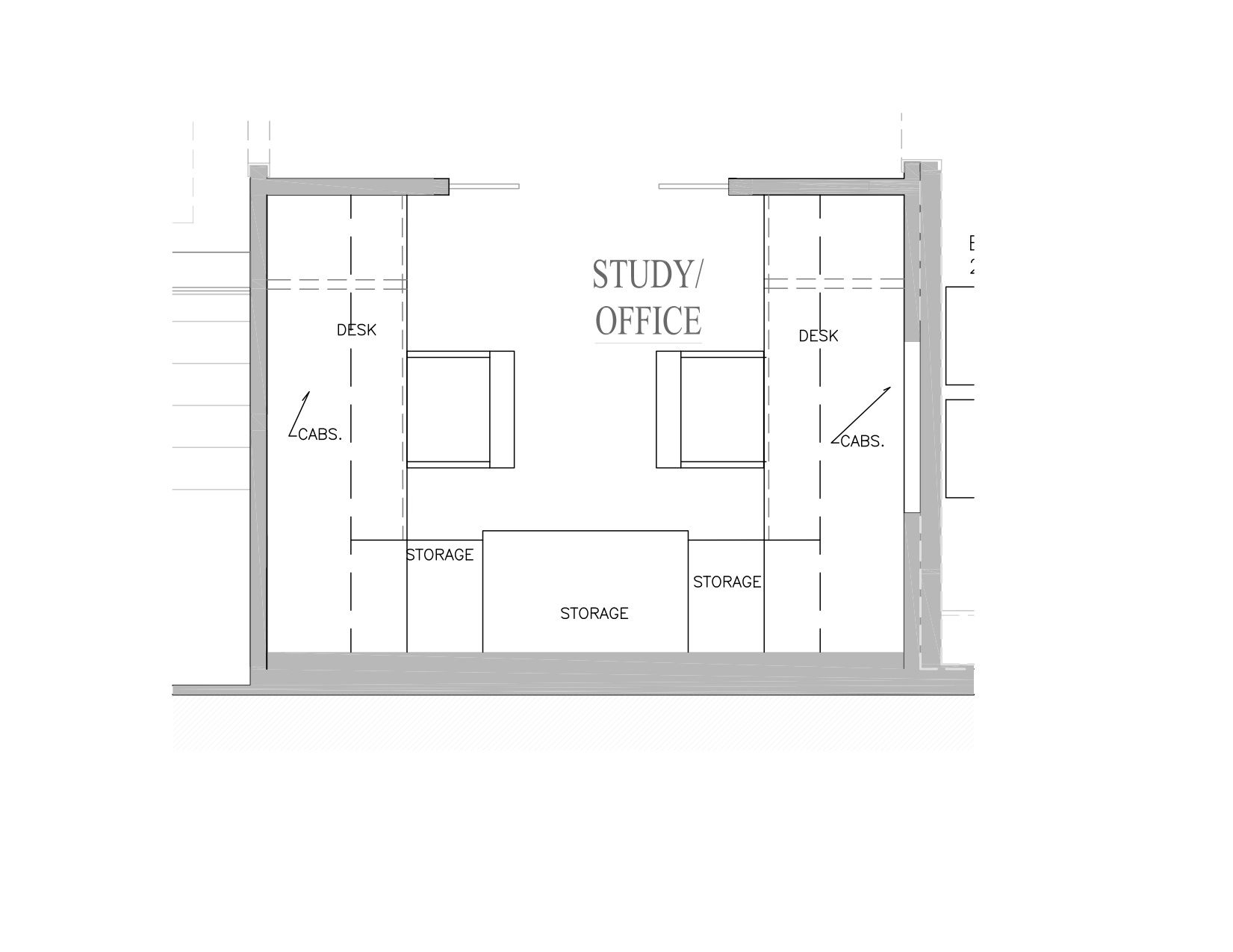 Super Space Planning for a Two Person Home Office Space. Super Space Planning for a Two Person Home Office Space   Home