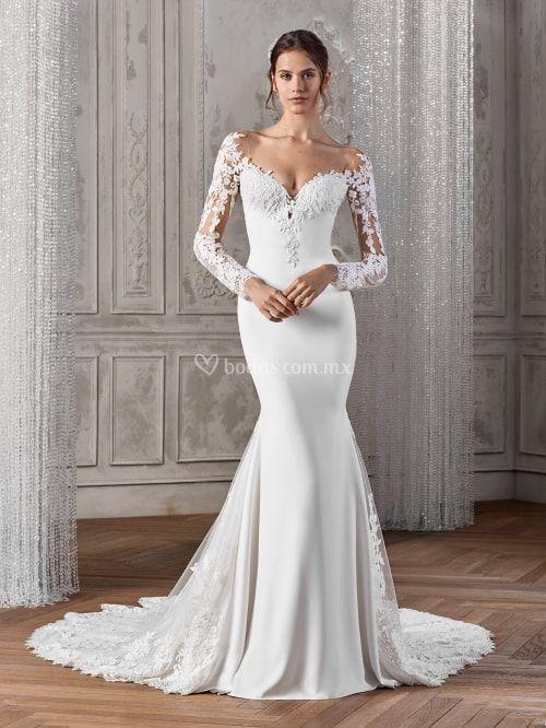 a8b43ae7f 15 tipos de mangas para vestidos de novia