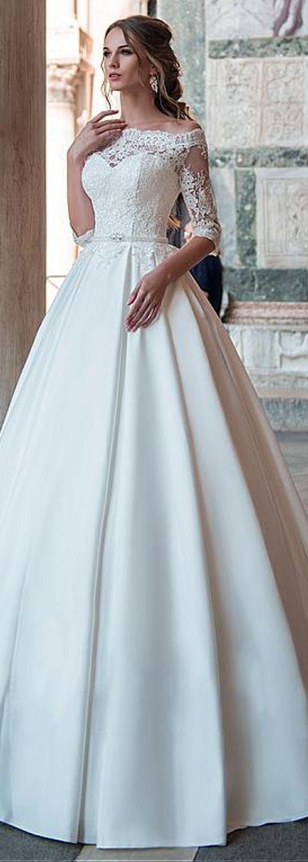 Types of Wedding Cakes for Theme Weddings | Vestidos de novia, De ...