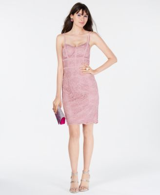 Juniors Lace Bodycon Dress Macys Com For The Ladies In 2018