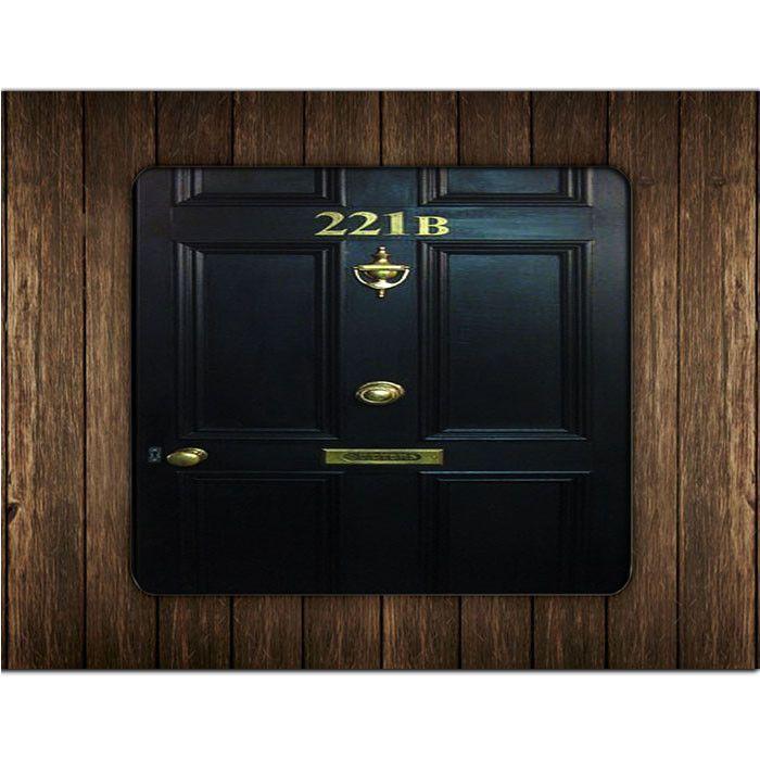 SHERLOCK HOLMES 221B DOOR MOUSE PADS