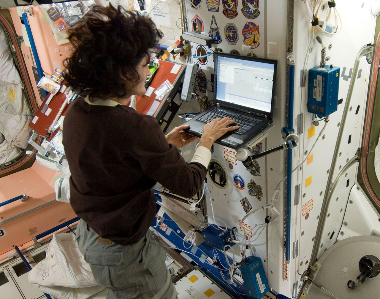 ISS gets a 600 Mbps internet upgrade...   International ...