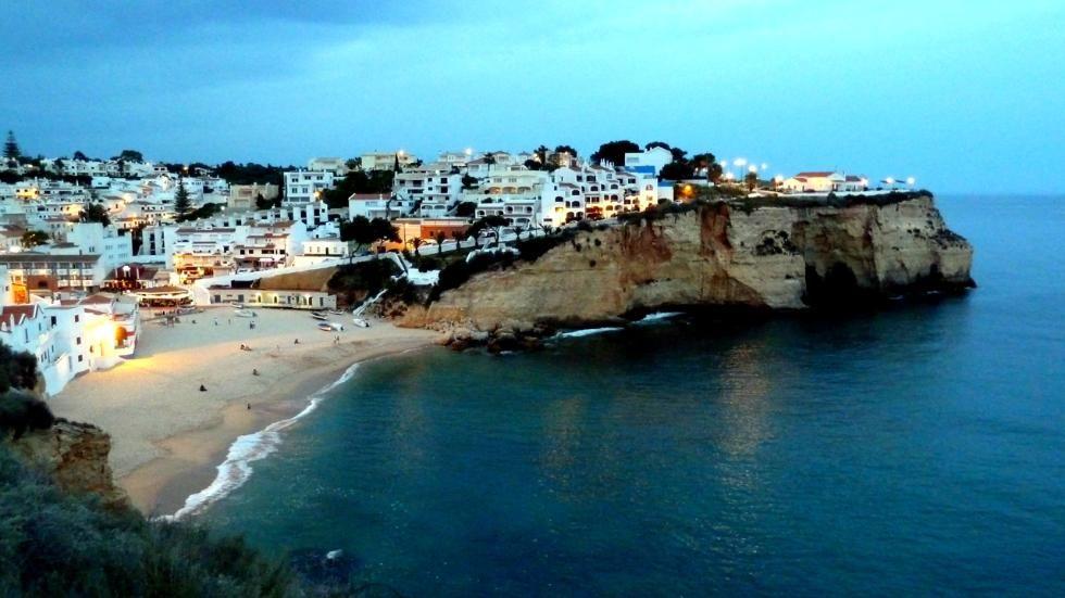 30 Breathtaking Cliffside Beaches (PHOTOS) | The Weather Channel  ...Praia de Carvoeiro, Portugal