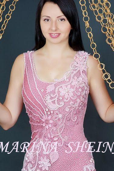 Outstanding Crochet: Irish Crochet from Marina Sheina.