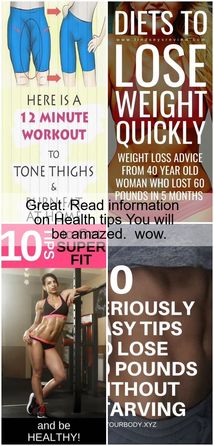 Great. Read information on Health tips You will be amazed.  wow. #fitness