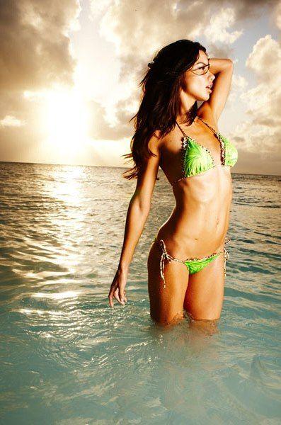 Adriana Lima for Victoria's Secret #swim