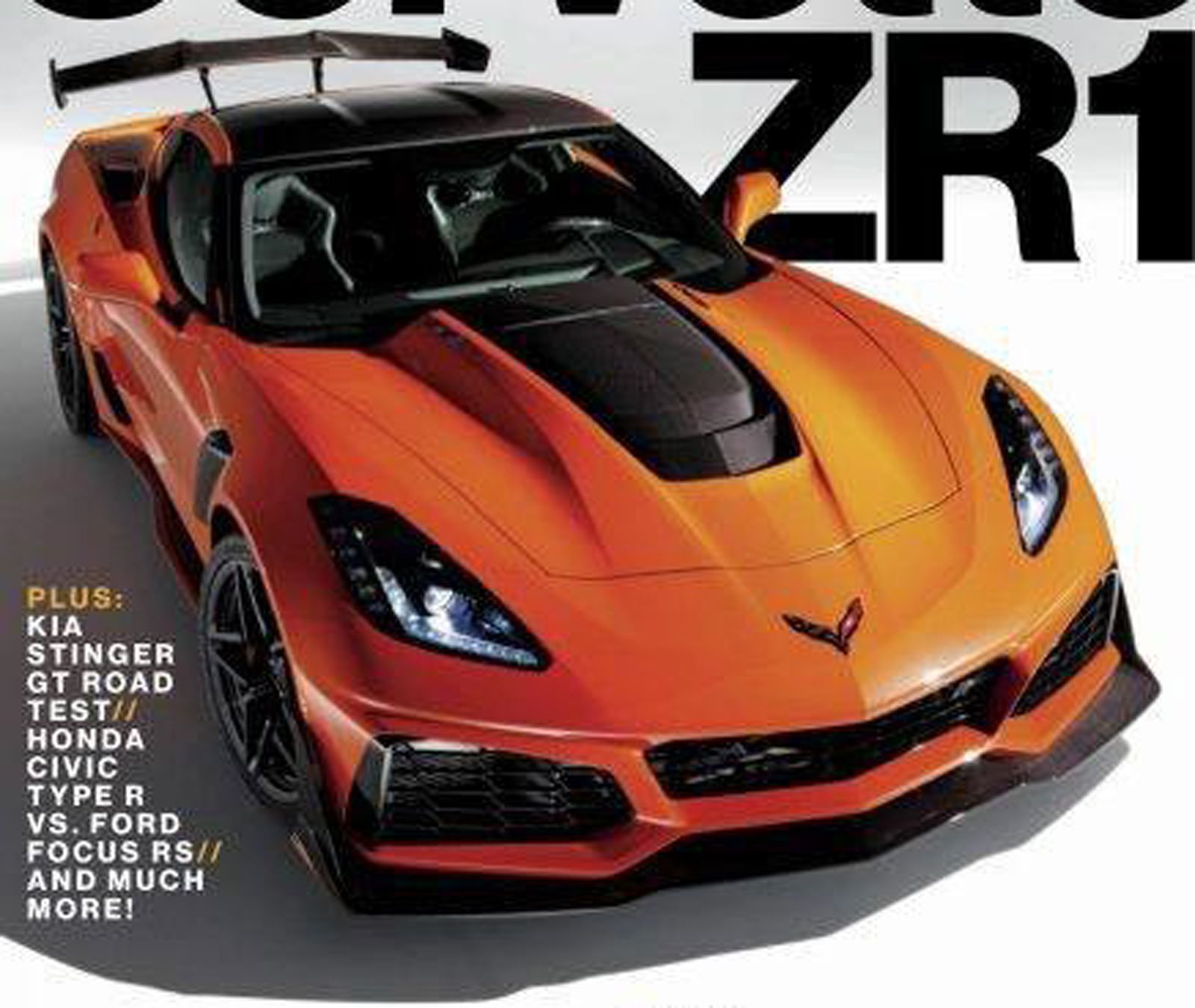 The 750 Horsepower 2019 Chevrolet Corvette Zr1 This Is It