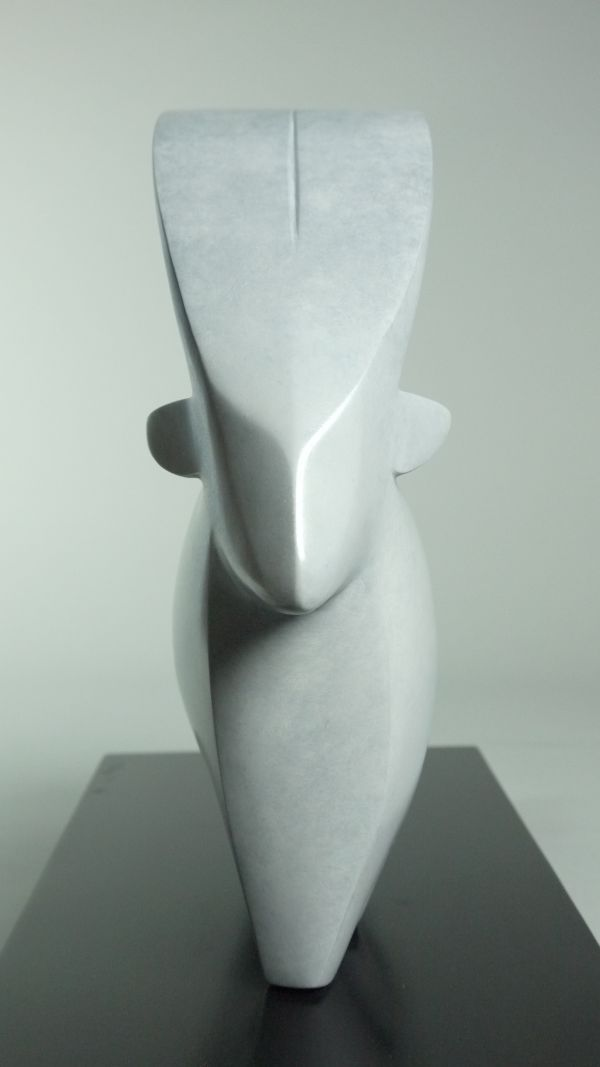 Fabuleux Bronze Animal Form: Abstract sculpture by artist Stephen Page  YT97