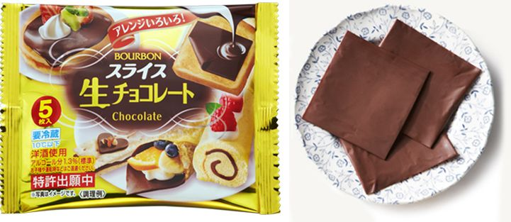 "The old phrase ""the next best thing since sliced bread,"" might need some tweaking because Japanese food company Bourbon has come up with a product that trumps any loaf—they've created sliced chocolate. Instead of buying the sweet snack in the form of a thick bar or a jar of creamy spread, Bourbon's confectionery delight comes in individually-wrapped square slivers, reminiscent of Kraft Singles cheese. The possibilities for sliced chocolate are endless, but one obvious use is to put it on a…"