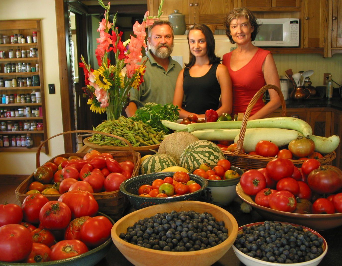 Animal, Vegetable, Miracle -- by Barbara Kingsolver, with Steven L. Hopp  and Camille Kingsolver