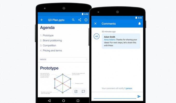 Dropbox Para Android Ahora Reproduce Gifs Y Facilita Las Menciones En Los Comentarios Android Gifs Innovacion