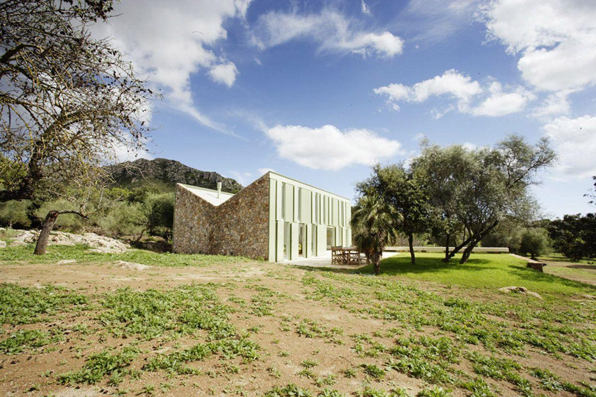 Casa en el Campo - Juan Herreros Arquitectos - Mallorca - España ...