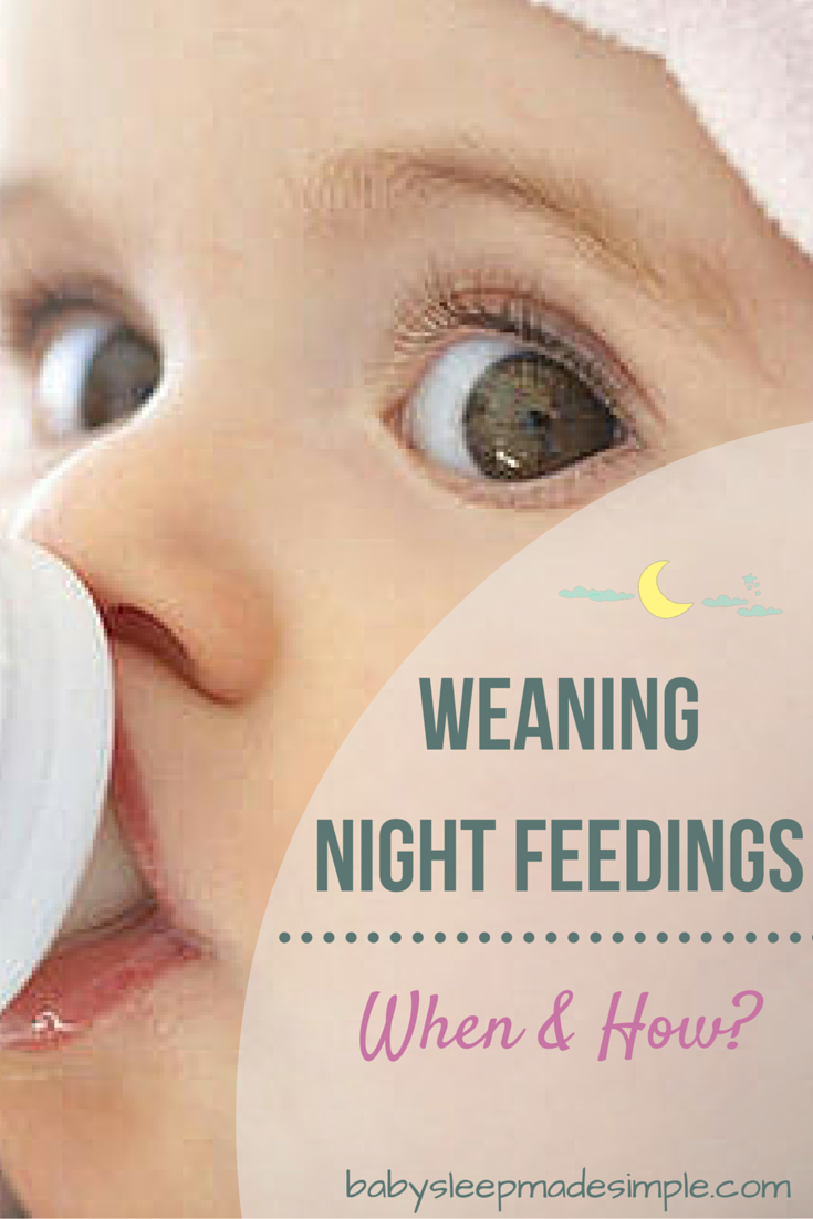 How To Wean Your Baby Off Night Feeds Step By Step Guide Stopping Breastfeeding Baby Sleep Problems Breastfeeding