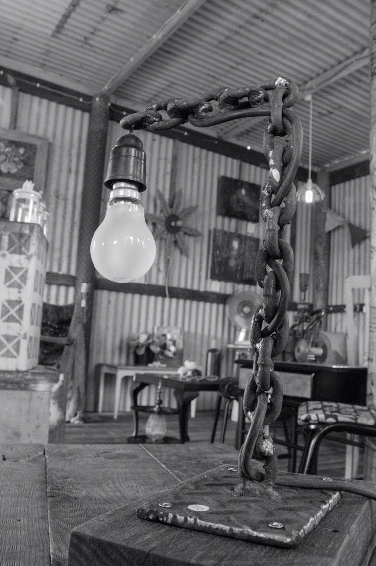 Industrial lamp @ www.facebook.com/groups/VintageReclaimed