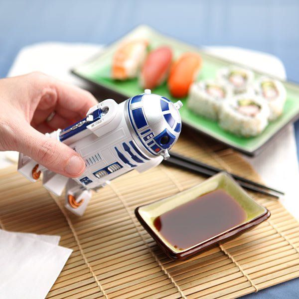 Really?? An R2D2 soy sauce dispenser?