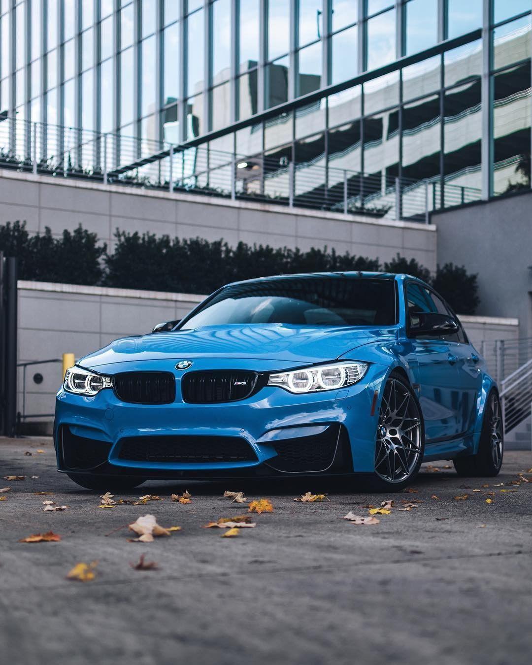 BMW F80 M3 in Yas Marina Blue Metallic Bmw m3 sedan, Bmw