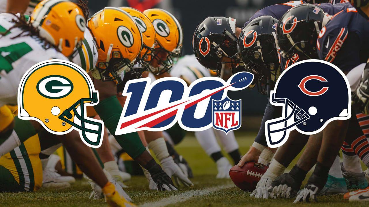 Packers Bears Will Kick Off 2019 Nfl Season Nfl Season Nfl Nfl Chicago Bears