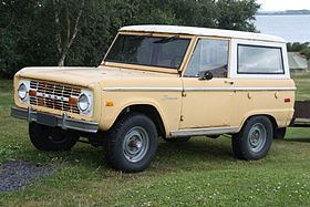 Ford Bronco Wikipedia The Free Encyclopedia Ford Bronco Classic Ford Broncos Old Ford Bronco