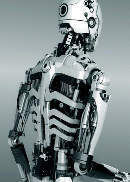 Pin by TheWhiteRabbit on Art x Cyberpunk & Sci-Fi | Robot