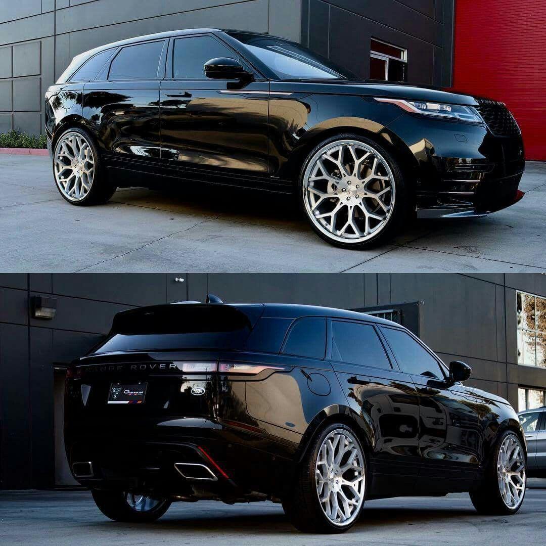 Land Rover Range Rover Velar On 24 Rims Luxury Cars Range Rover Range Rover Lux Cars