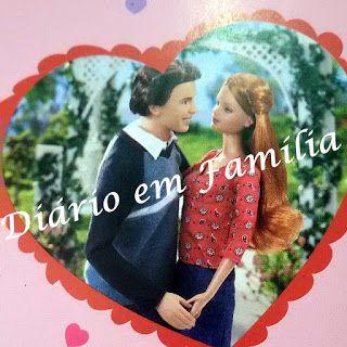 Ana Clara Dolls: Novela da Barbie Happy family Diário em Família Re...