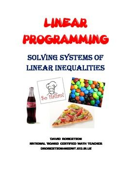 Practice Graphing Systems Of Linear Inequalities In Real World