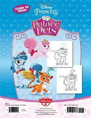 Learn To Draw Disney Princess Palace Pets Featuring Pumpkin