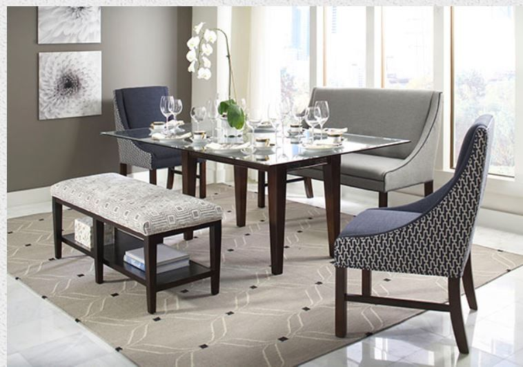dining room set by libby langdon star furniture seaside oregon rh pinterest com