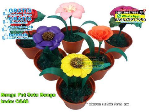 Bunga Pot Satu Bunga Crafts Plants
