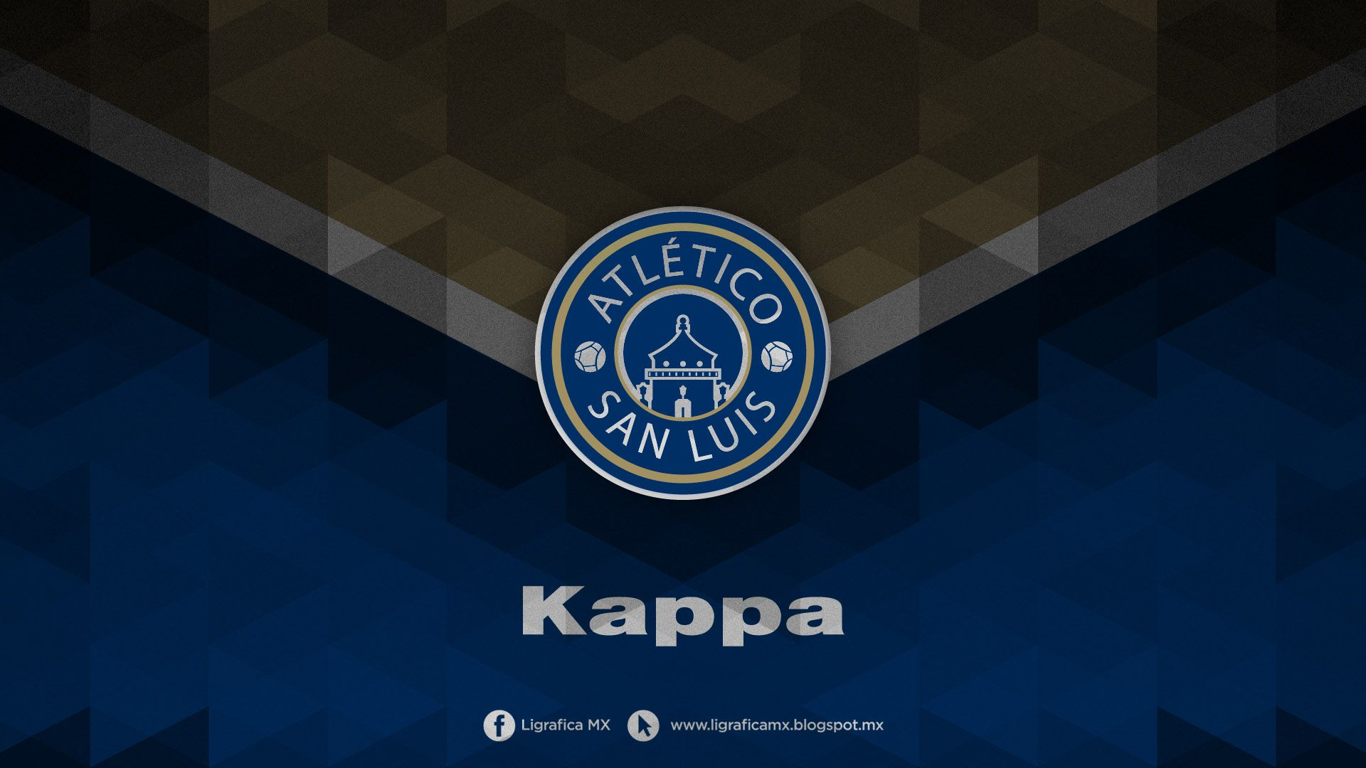 @Atletico San Luis • Kappa Futbol • LigraficaMX • 310314CTG