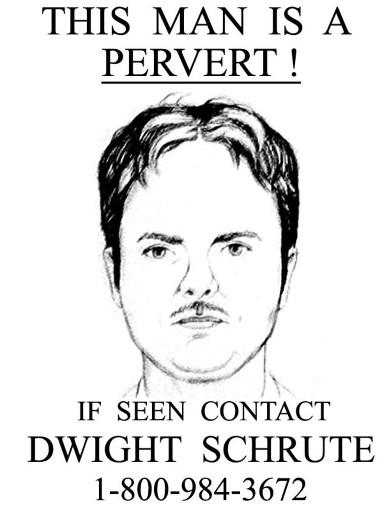 the office dwight schrute poster