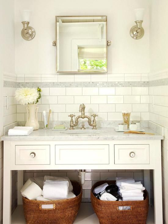Genial Make A Small Bathroom Look Larger With These Useful Tips