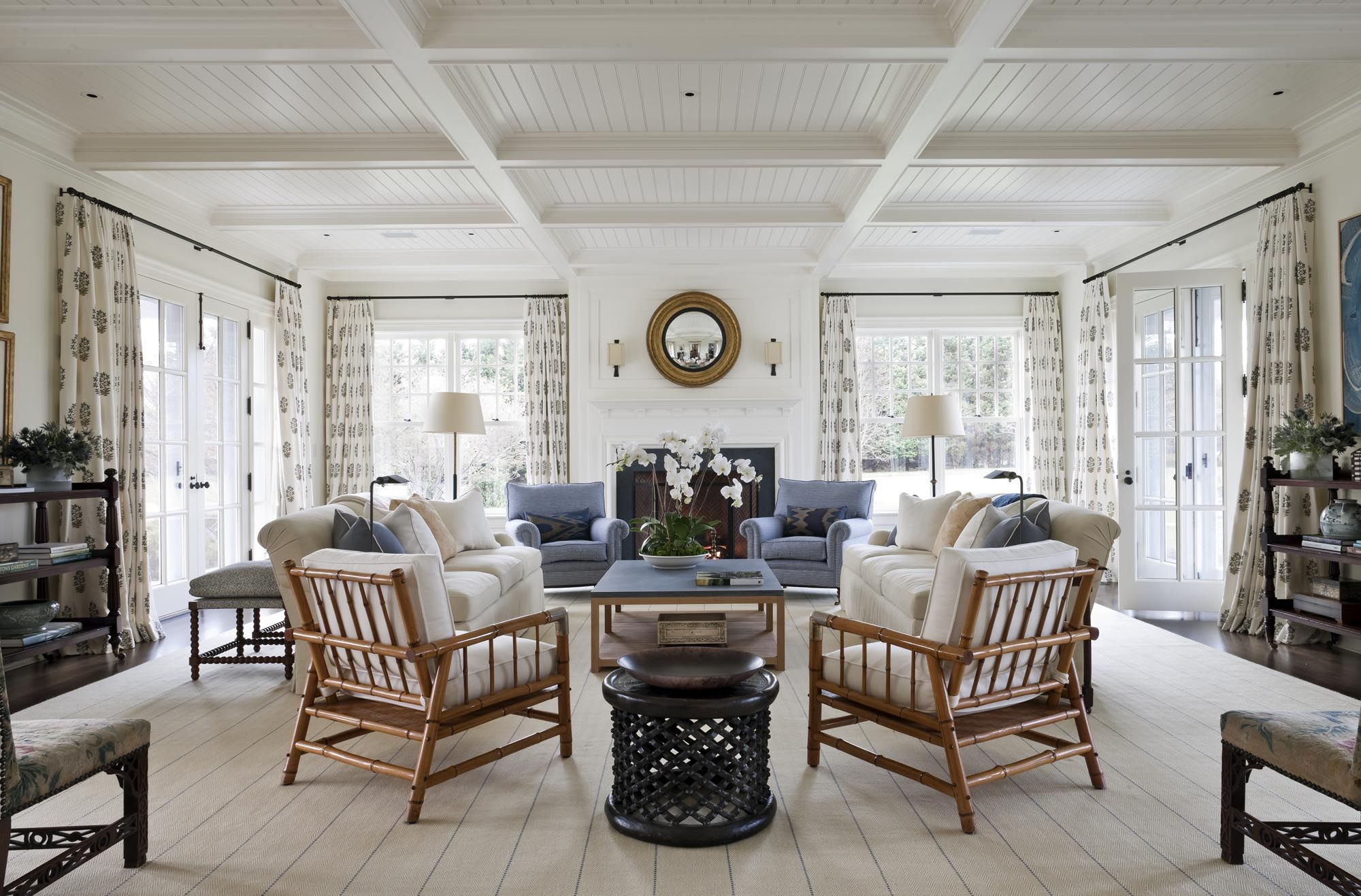 Hampton Interiors Kdhamptons Featured Home East Hampton Perfection At 44 9m Places To See
