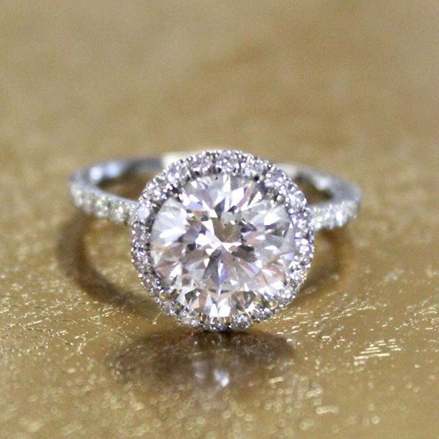 18k White Gold Waverly Diamond Ring 1 2 Ct Tw Beautiful Diamond Rings Elegant Engagement Rings Buying An Engagement Ring