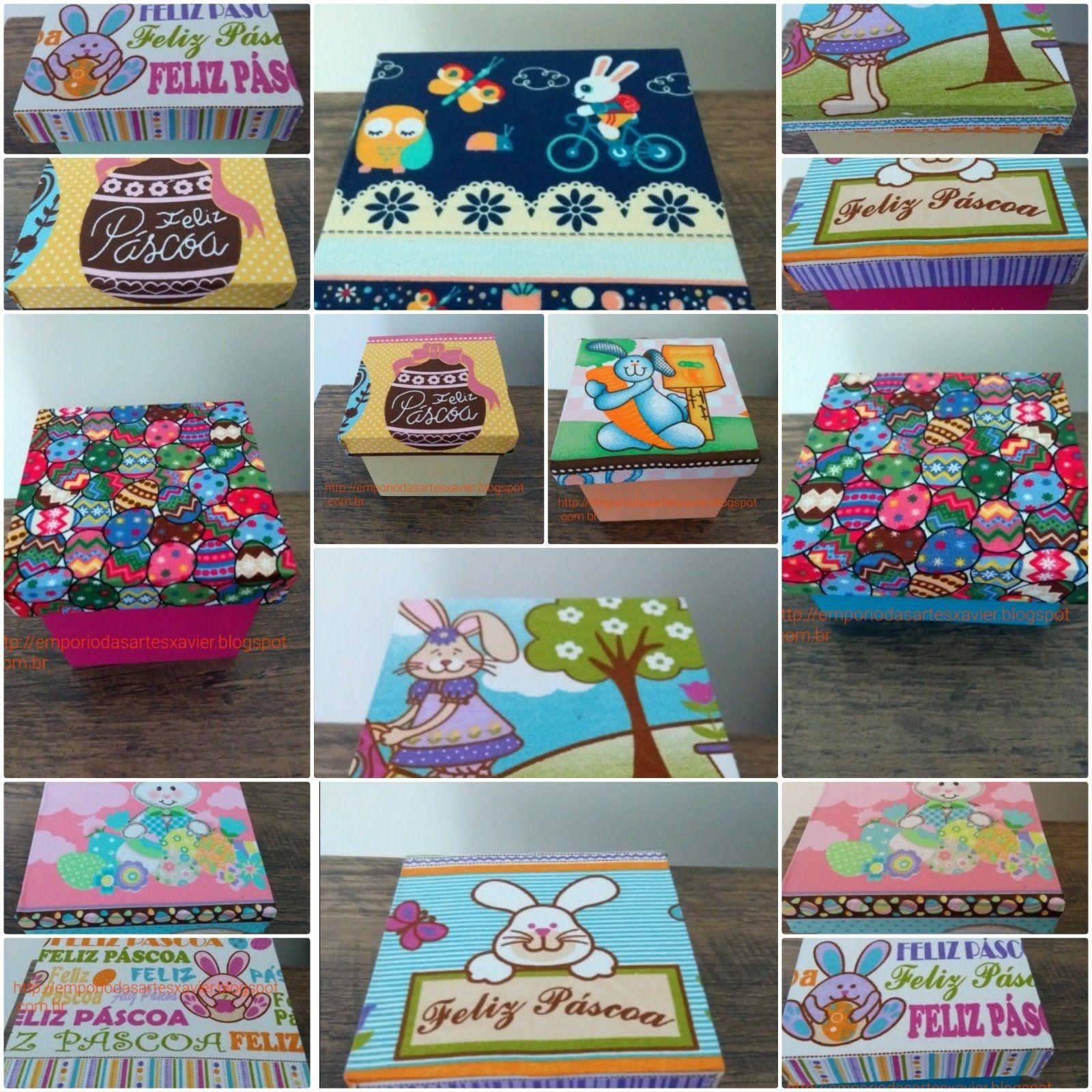 Emporio Das Artes Com Imagens Caixas Decoradas Caixa Decorada
